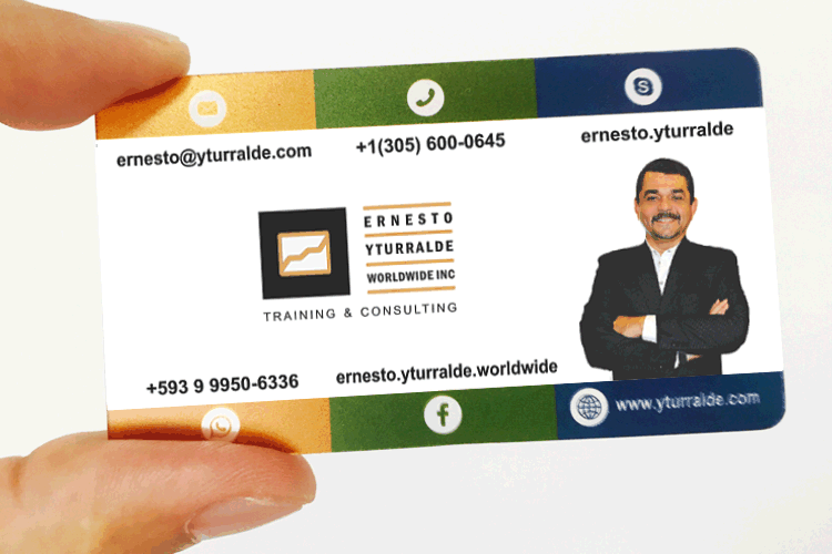 Ernesto Yturralde | Business Card